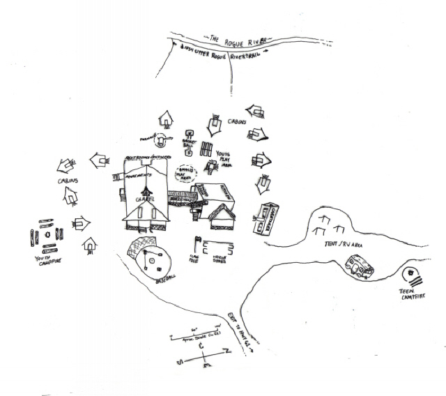 Union Rogue River Camp Grounds Map